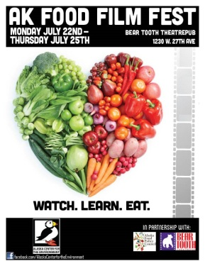 Announcing the AK Food Film Fest: July 22nd – July 25th