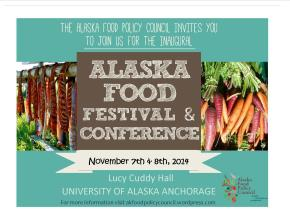 Alaska Food Festival and Conference: Registration is Now Open!