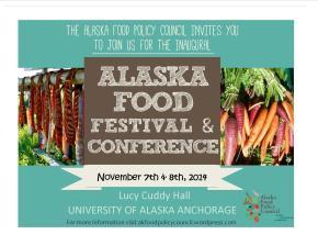 Alaska Food Festival and Conference: Registration is NowOpen!