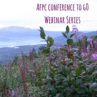Afpc conference to g0Webinar Series